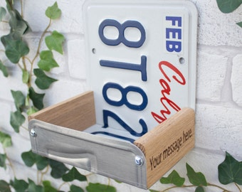 Bird Feeder, California License Plate Bird Feeder, Can be personalised