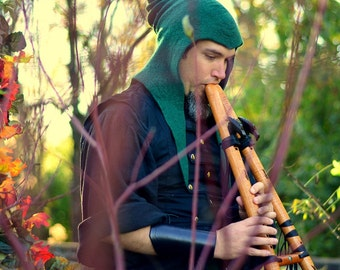 The Ultimate Druid Hood. Sorcerer Cowl. Cosplay Hat. LARP