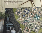 Tributes and Treasures, Reproductions Quilt Patterns, Softcover Book, Paula Barnes, Mary Ellen Robison