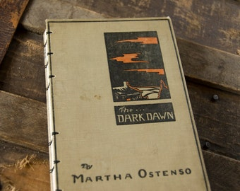 1926 DARK DAWN Vintage Lined Notebook