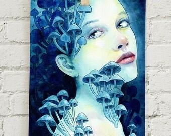 """Beauty in the Breakdown: 5x7"""" print"""