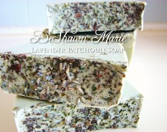 SOAP - 3lb Lavender Patchouli Soap Loaf, Vegan Handmade Soap, Wholesale Soap Loaves