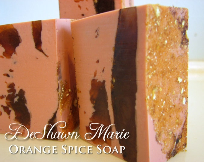 SOAP - 3 lb. Orange Spice Handmade Soap Loaf, Wholesale Soap Loaves, FREE SHIPPING