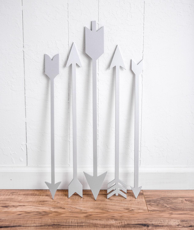 Arrows Cutout Signs Set Of 5 Arrow Decor For Wall Or Wedding