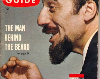 1961 TV Guide - Mitch Miller On Cover - Guide # 443 - VG Complete