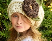 CROCHET PATTERN - Slouchy Hat Pattern - The Bethany Rose Slouchy hat, Child, and Adult sizes