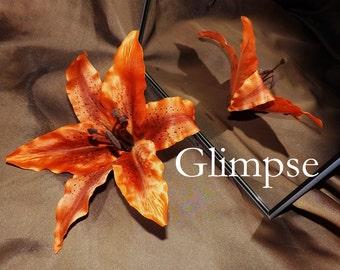 Tribal Fusion ATS Bellydance Floral Hair Clip, Glimpse