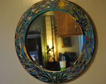 Sunshine Mosaic Mirror