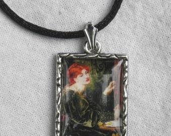 Pre-Raphaelite Pendant