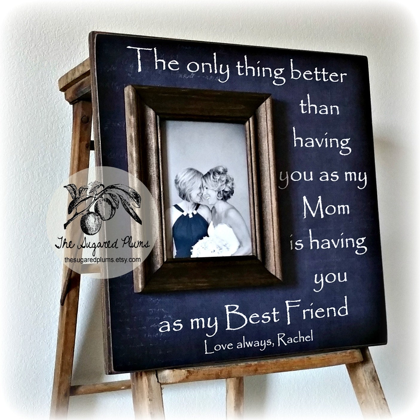 Unique Mother Of The Bride Gifts: Mother Of The Bride Gift Personalized Picture Frame The Only