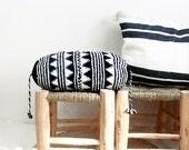 Pillow Crochet Marrakech  -  black