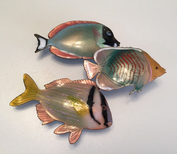 Bovano Fish Sculpture/Vitreous Enameled Copper