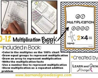 NEW * My Multiplication Book