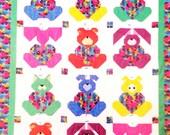 ZOO BABIES Quilt Book Six fun to stitch, interchangable blocks using no template piecing