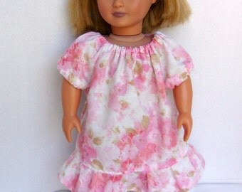 Peasant Dress for 18 inch Dolls such as American Girl and Our Generation