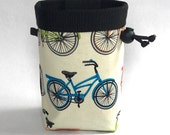 Climbing Chalk Bag, Rock Climbing Chalk Bag, Gift for Climber, Bikes, Bicycles