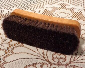 Vintage Esquire Boot Brush - Horse Hair Brush  -  16-487