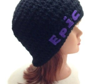 Epic  Hat, Purple Epic Gear, Geeky Hat, Gamer Hat, Nerdy Hat, Cosplay Hat, Gifts For Gamers, Computer Nerd, Gamer Girl, Epically Epic