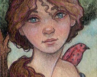 Original ACEO....Mistress Mattie