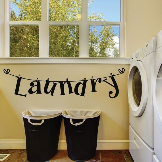 laundry room wall decals laundry room decals laundry room laundry room removable wall stickers wall decal ebay
