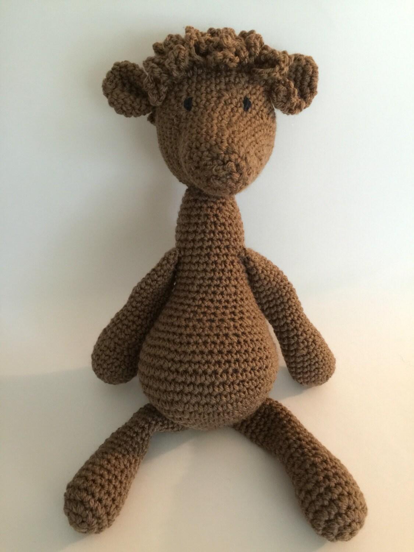 Crochet Amigurumi Alpaca Plush