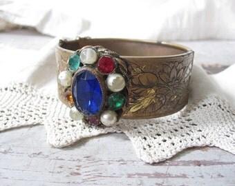 Victorian Hinged Bracelet