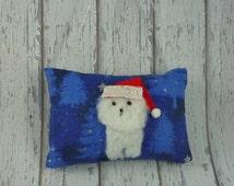 Bichon Frise, Bichon Christmas, Bichon ornament, Bichon Frise gift, Bichon collectable, Bichon Frise merchandise, Bichon Frise Santa,
