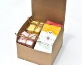 Tea and Sugar Gift Set- Tea Lover Gift Set, Flavored Sugar Cubes, Herbal Tea, Green Tea, Tea Sampler, Sugar Sampler, High Tea