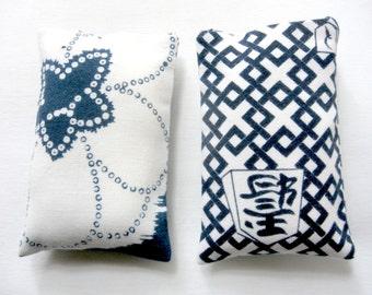 Lavender Scented Sachets, Blue and White, Drawer Sachets, Herbal Sachet, Modern Home, Sachet Bag, Lavender Scented Bag, Sachet For Men, Gift