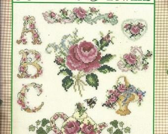 Big Book of Beautiful Flowers Cross Stitch Patterns Roses