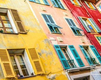 Best Color Block // 5x7 Travel Photography // French Print