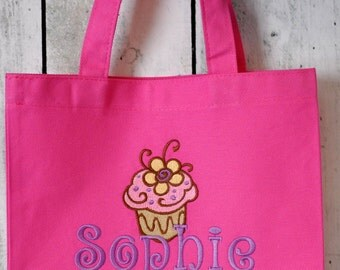 Small Cupcake Tote Bag for Children