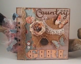 Country Girl 6x6 Mini Album #1