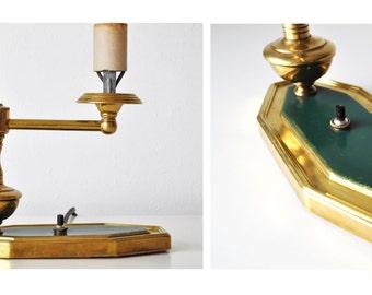 Vintage Brass Arrow Lamp