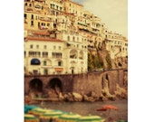 """Travel art print, Italy photography, The Amalfi Coast - """"A Place in Italy"""""""