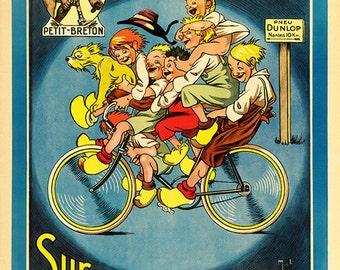 Petit-Breton Bicycle  Poster (#0433) 6 sizes