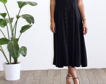 SALE - Vintage black long dress