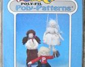 Poly-Patterns Samantha D-205 Doll Pattern , by Poly-Fil, Vintage 1990's