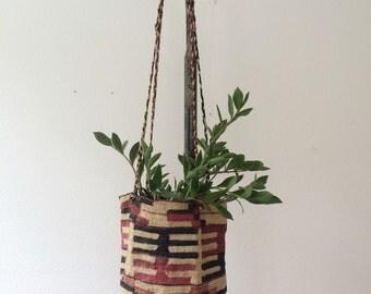 vintage Shigra basket
