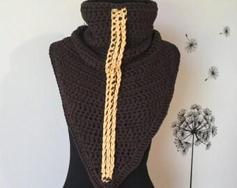 Crochet Scarf / Cowl Scarf / Chunky Scarf / Knit Cowl / Crochet Infinity Scarf / Knit Scarf / Crochet Neck Warmer
