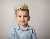 Ready to Ship    Peyton    Unisex    Prince    full size lace crown    Toddler-Adult    custom sizes    WASHABLE    Love Crush Exclusive