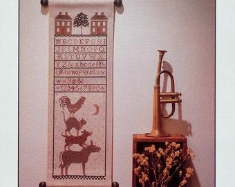 The Prairie Schooler BREMEN TOWN MUSICIANS Sampler Book No 4 - Counted Cross Stitch Pattern