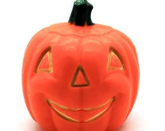 Vintage Gurley Halloween Candle Pumpkin Jack-O-Lantern Collectible Halloween Decor Party Free Shipping