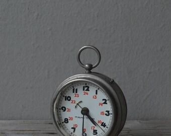 Small Vintage Tam Tam Alarm Clock