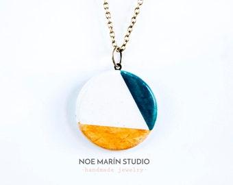 Ceramic necklace jewelry, Ceramic pendant jewelry, Handmade jewelry, Jewelry for her, Necklace pendant, Custom necklace, Unique jewelry