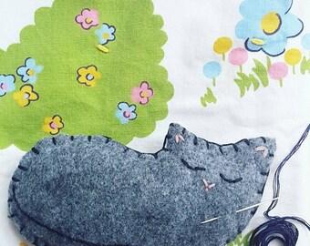 Cat Sewing Kit | Lavender Sachet | Learn to Sew | Cat Craft | Kids Craft | DIY Kit