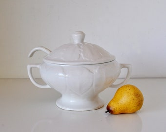 Vintage Soup Tureen with Ladle Maurice Ceramics