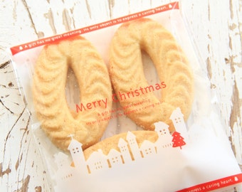 10 Merry Christmas Candy or Cookie Bags