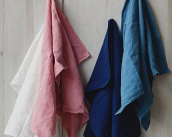 Linen Towel, Navy Blue, Homeware, Kitchen Tea Towel, Kitchen Linen