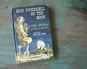 Vintage Children's Hardback Book, 1960's Vintage Hardback Book, Retro Collectible, Children's Book, Miss Pickerell Series